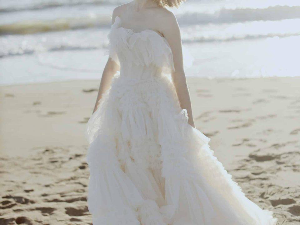 高級訂製款法式婚紗